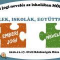 II. Emberi jogi nevelés az iskolában Módszerbörze
