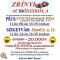 Zrínyi Autósiskola - Új tanfolyam