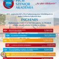 Pécsi Szenior Akadémia - az aktív időskorért