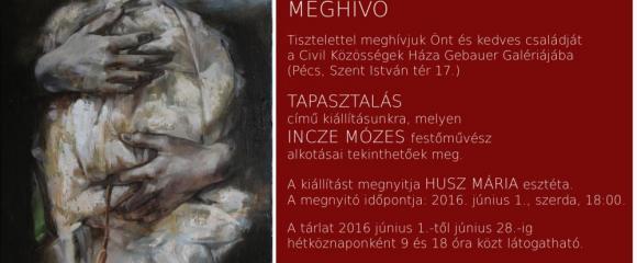 Tapasztalás - Incze Mózes kiállítása