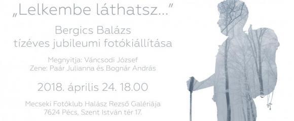 Mecseki Fotóklub - Bergics Balázs jubileumi kiállítása