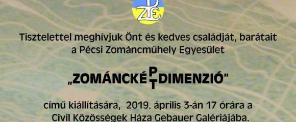 Pécsi Zománcműhely Egyesület - Zománckép-két dimenzió