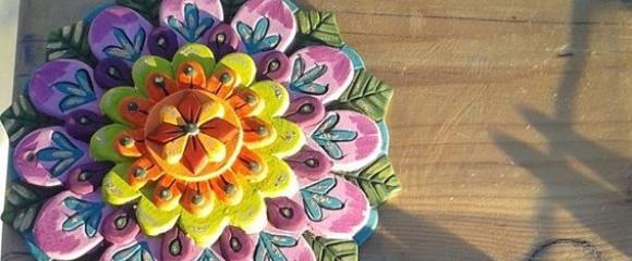 Mandala festés Pécsen